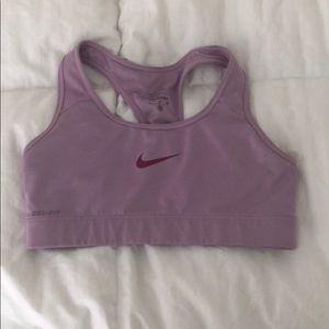 Nike Lilac Sports Bra